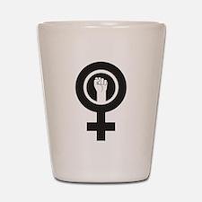 Feminist Power Shot Glass