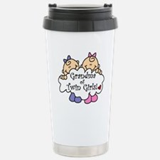 Cute Grandma to twins Travel Mug