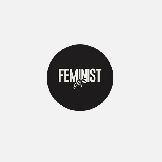 Feminist AF Mini Button