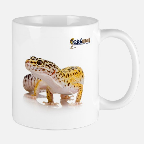 Leopard Gecko & GU Logo Mug