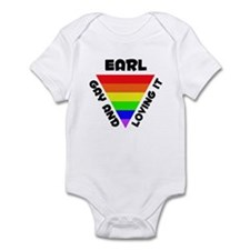 Earl Gay Pride (#006) Infant Bodysuit