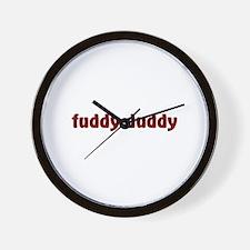 Fuddy Duddy Wall Clock