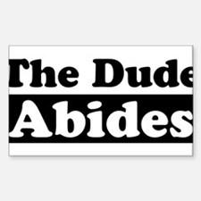 thedudeabides Bumper Stickers