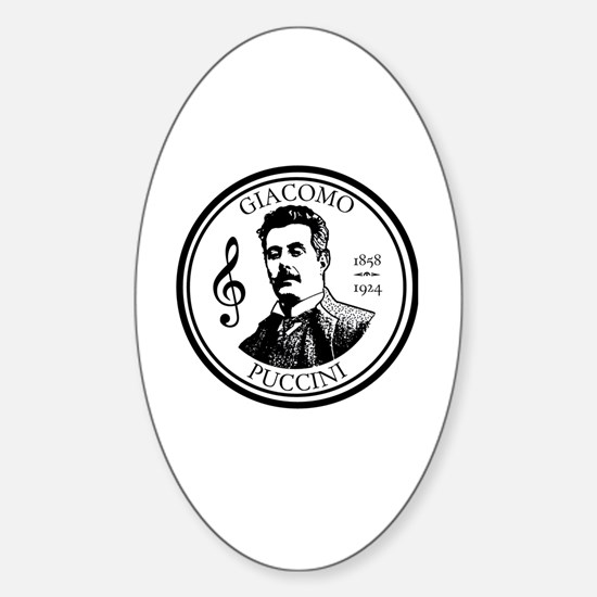 Unique Giacomo Sticker (Oval)