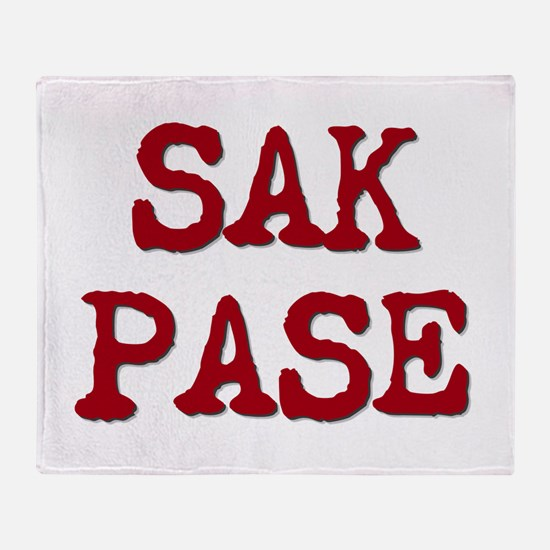 Sak Pase Throw Blanket