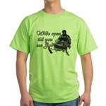 Wide Open Green T-Shirt