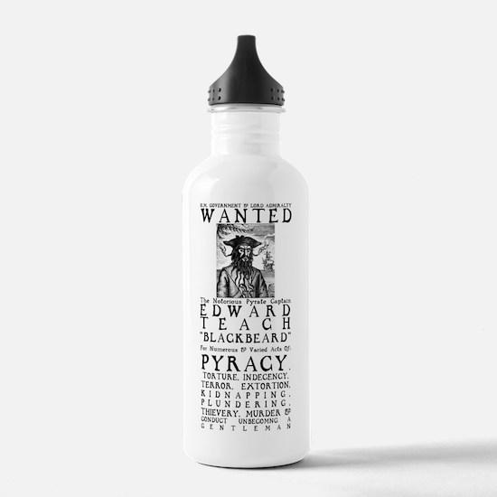Blackbeard Water Bottle