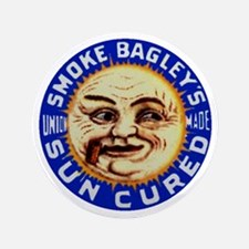 """Smoke Bagley's 3.5"""" Button"""