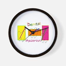 Cute Dental hygienist Wall Clock