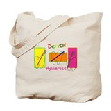 Dental hygienist Canvas Totes
