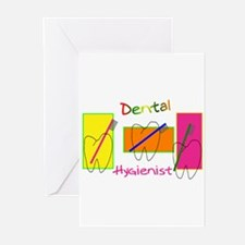 Cute Dental hygienist Greeting Cards (Pk of 10)