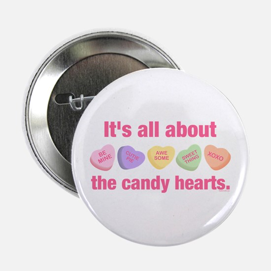 "Candy Hearts II 2.25"" Button"