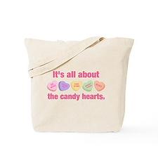 Candy Hearts II Tote Bag
