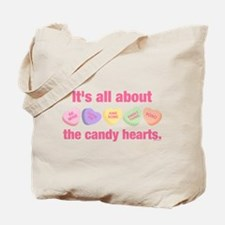 Candy Hearts II Tote Bag