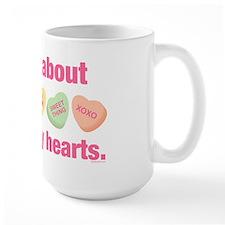 Candy Hearts II Mug