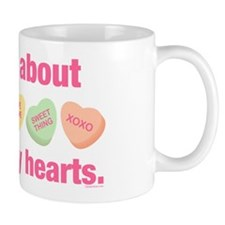 Candy Hearts II Mug