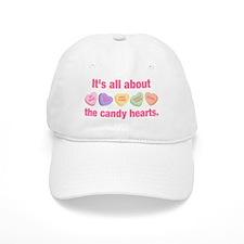 Candy Hearts II Baseball Baseball Cap