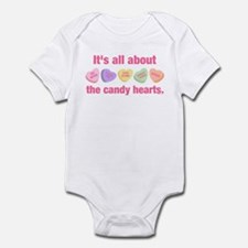 Candy Hearts II Onesie