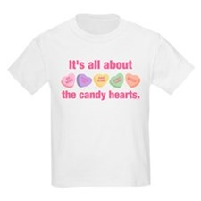 Candy Hearts II T-Shirt