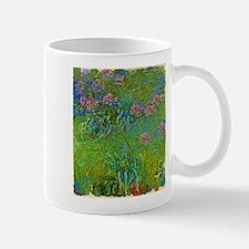 Agapanthus Flowers by Claude Monet Mugs