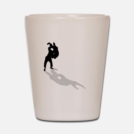 Judo Throw Shot Glass