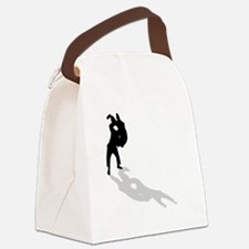 Judo Throw Canvas Lunch Bag