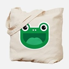 Happy Frog Logo by Don Tote Bag