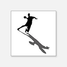 Handball Player Sticker