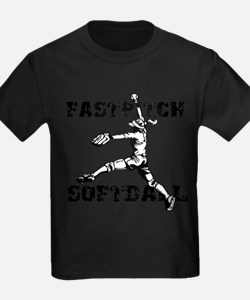 Distressed Fastpitch T-Shirt