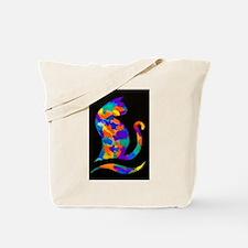 Rainbow Cat Tote Bag