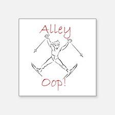 SKIER - Alley Oop - Action Sketch Sticker