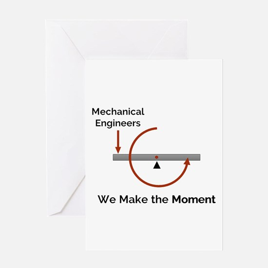 Cute Mechanical engineers Greeting Card
