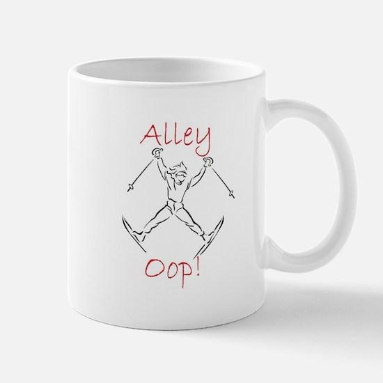 SKIER - Alley Oop - Action Sketch Mugs