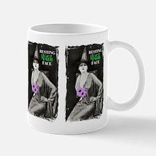 Resting Witch Face Mug Mugs