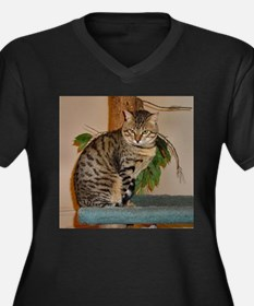 egyptian mau sitting 2 Plus Size T-Shirt