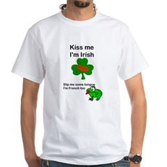 KISS ME IM IRISH AND FRENCH Shirt