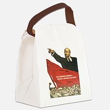 Cute Soviet Canvas Lunch Bag