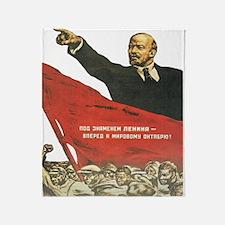 Propaganda Throw Blanket