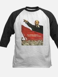 Vladimir Lenin soviet propaganda Baseball Jersey