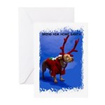 bring him home santa Greeting Cards (Pk of 10)