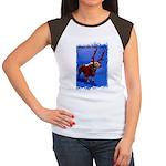bring him home santa Women's Cap Sleeve T-Shirt