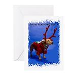 bring him home santa Greeting Cards (Pk of 20)