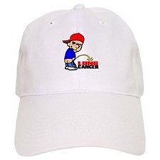 Piss On Lung Cancer Baseball Cap