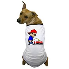 Piss On Lung Cancer Dog T-Shirt