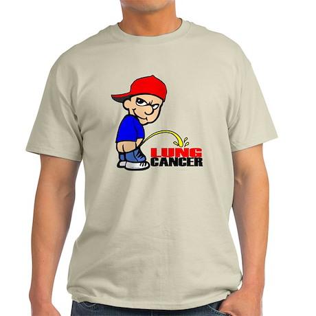 Piss On Lung Cancer Light T-Shirt