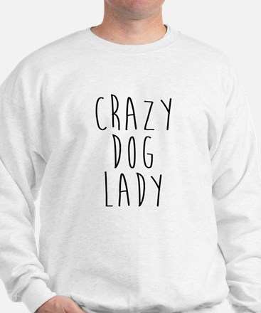 Cute Crazy dog lady Jumper