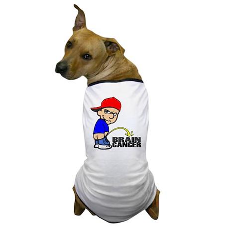Piss On Brain Cancer Dog T-Shirt
