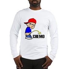 Piss On Chemo Long Sleeve T-Shirt