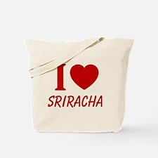 I Heart Sriracha Tote Bag