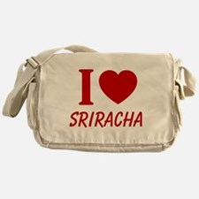 I Heart Sriracha Messenger Bag